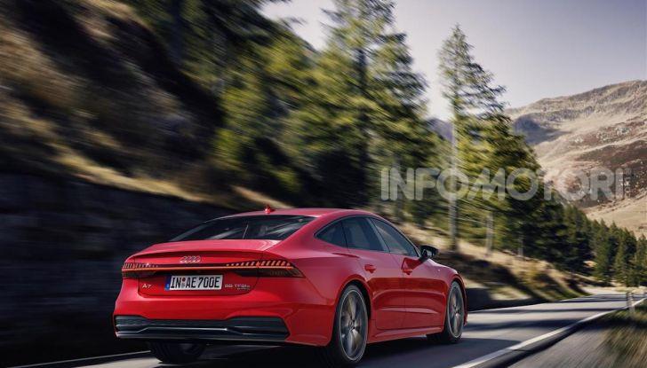 Audi A8, A7 Sportback, A6 e Q5 anche in versione ibrida plug-in - Foto 2 di 9