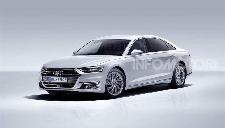Audi A8, A7 Sportback, A6 e Q5 anche in versione ibrida plug-in - Foto 7 di 9