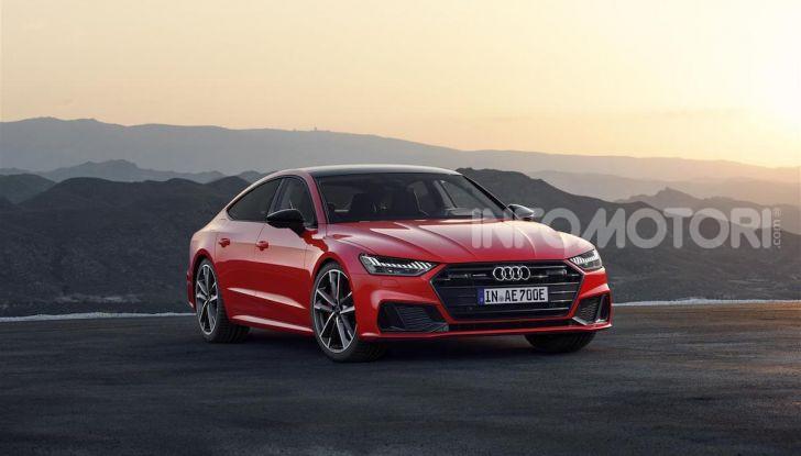 Audi A8, A7 Sportback, A6 e Q5 anche in versione ibrida plug-in - Foto 8 di 9