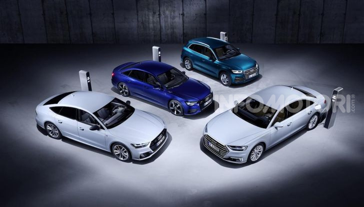 Audi A8, A7 Sportback, A6 e Q5 anche in versione ibrida plug-in - Foto 9 di 9