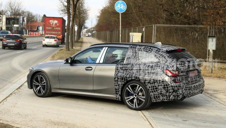 BMW Serie 3 Touring 2019: nuovo corso per la wagon tedesca - Foto 12 di 29