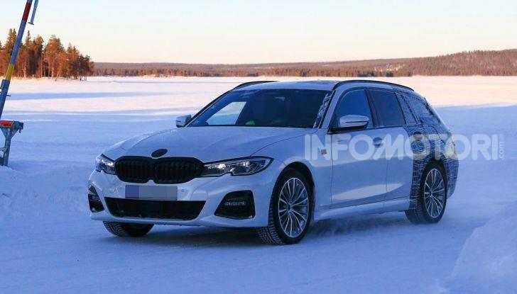 BMW Serie 3 Touring 2019: nuovo corso per la wagon tedesca - Foto 10 di 29
