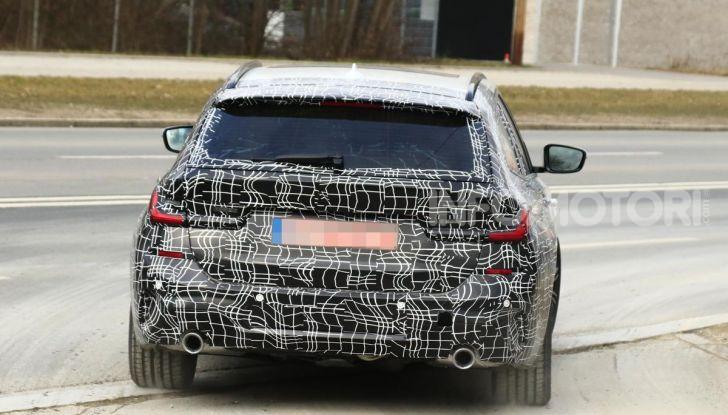 BMW Serie 3 Touring 2019: nuovo corso per la wagon tedesca - Foto 16 di 29