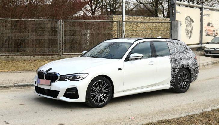 BMW Serie 3 Touring 2019: nuovo corso per la wagon tedesca - Foto 4 di 29