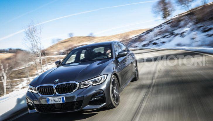 Nuova BMW Serie 3 2019, prova in anteprima, caratteristiche e prezzi - Foto 7 di 38