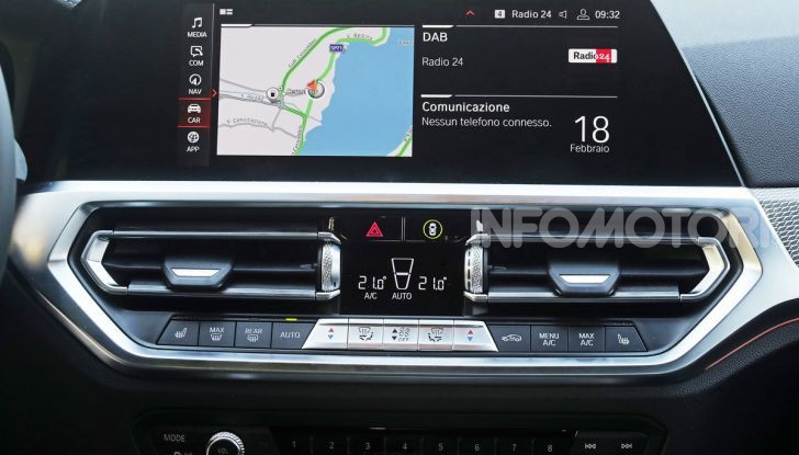 Nuova BMW Serie 3 2019, prova in anteprima, caratteristiche e prezzi - Foto 18 di 38