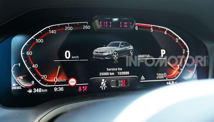 Nuova BMW Serie 3 2019, prova in anteprima, caratteristiche e prezzi - Foto 23 di 38