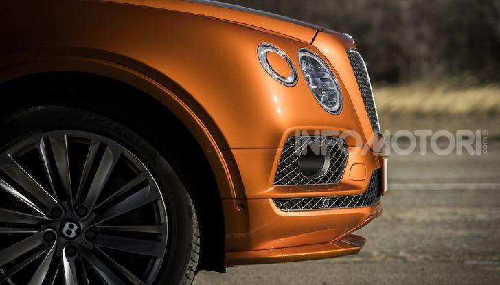 Bentley Bentayga Speed: il SUV più veloce al mondo - Foto 15 di 25