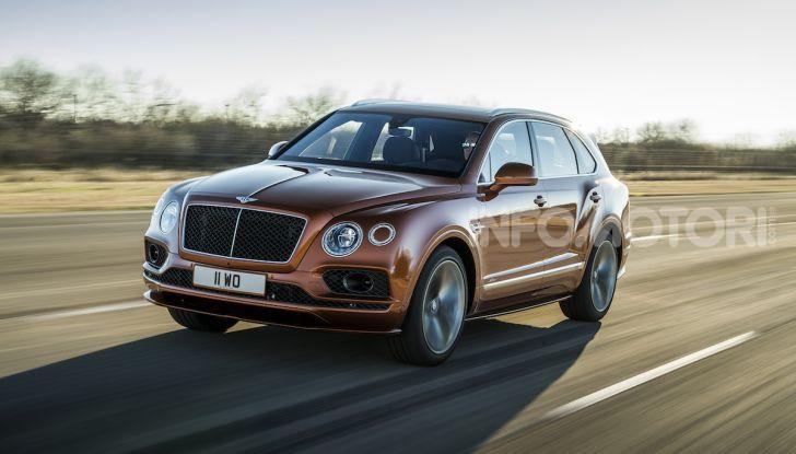 Bentley Bentayga Speed: il SUV più veloce al mondo - Foto 2 di 25