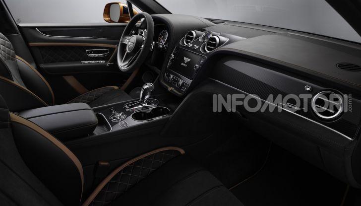 Bentley Bentayga Speed: il SUV più veloce al mondo - Foto 21 di 25