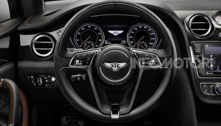 Bentley Bentayga Speed: il SUV più veloce al mondo - Foto 24 di 25
