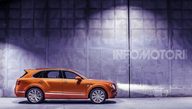 Bentley Bentayga Speed: il SUV più veloce al mondo - Foto 25 di 25