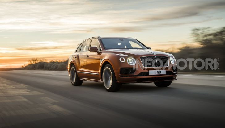 Bentley Bentayga Speed: il SUV più veloce al mondo - Foto 3 di 25