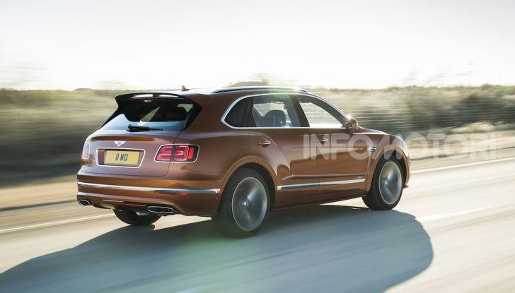 Bentley Bentayga Speed: il SUV più veloce al mondo - Foto 4 di 25