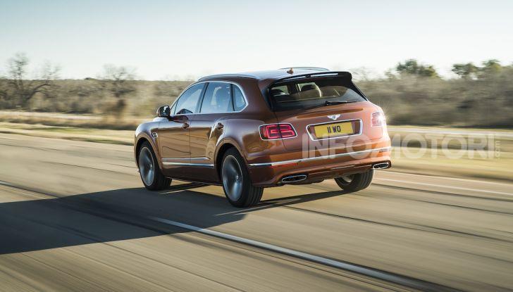 Bentley Bentayga Speed: il SUV più veloce al mondo - Foto 5 di 25