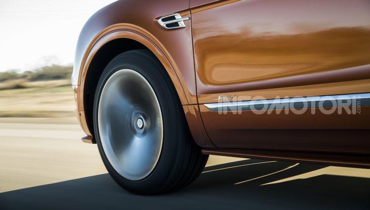 Bentley Bentayga Speed: il SUV più veloce al mondo - Foto 7 di 25