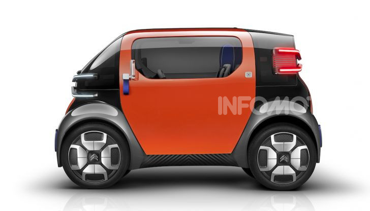 Citroen Ami One Concept: la mobilità urbana cambia forma - Foto 2 di 15