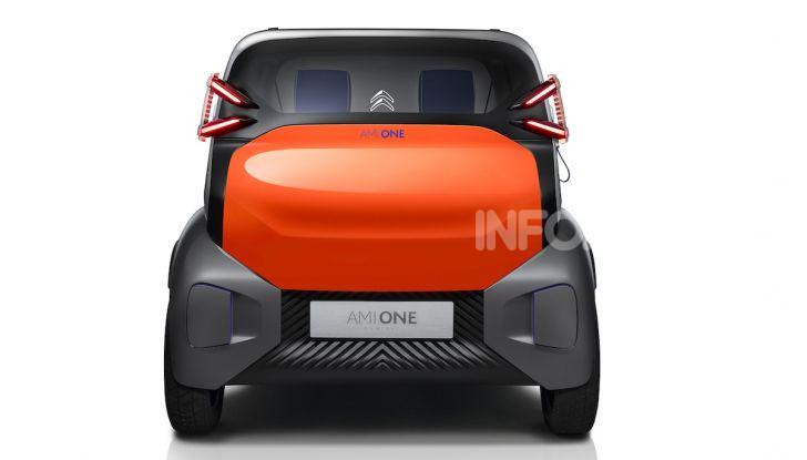 Citroen Ami One Concept: la mobilità urbana cambia forma - Foto 3 di 15