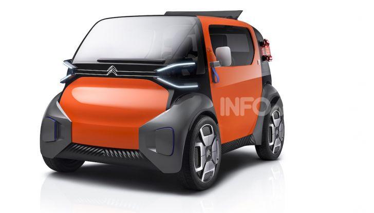 Citroen Ami One Concept: la mobilità urbana cambia forma - Foto 4 di 15