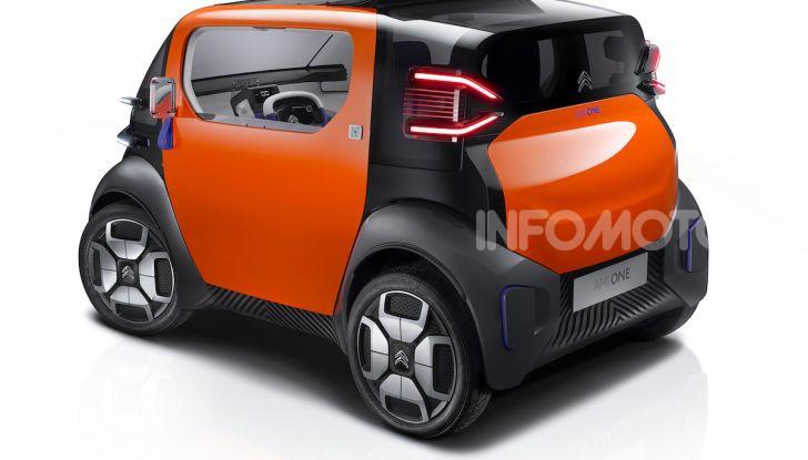 Citroen Ami One Concept: la mobilità urbana cambia forma - Foto 5 di 15