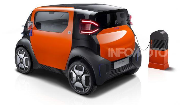 Citroen Ami One Concept: la mobilità urbana cambia forma - Foto 6 di 15