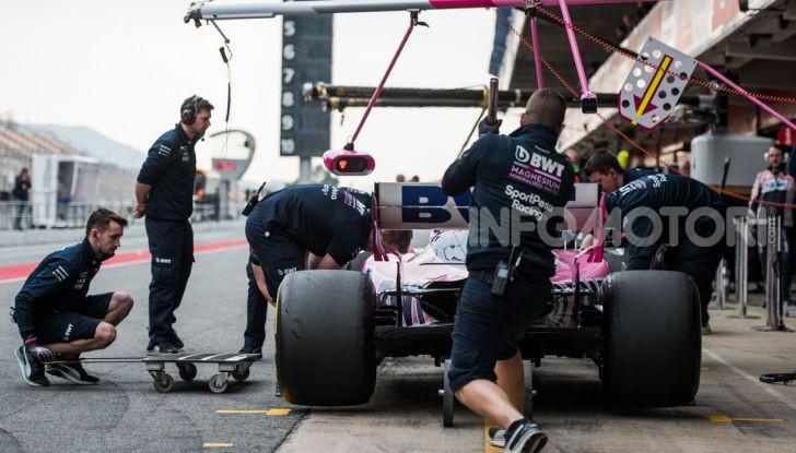 Formula 1 2019 Test Barcellona – giorno 3: si vedono i big ma svetta Kvyat - Foto 18 di 103