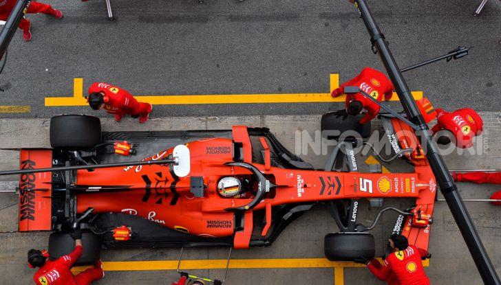 Formula 1 2019 Test Barcellona – giorno 3: si vedono i big ma svetta Kvyat - Foto 36 di 103
