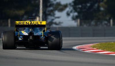 Formula 1 Test Barcellona - giorno 4: davanti la Renault di Hulkenberg
