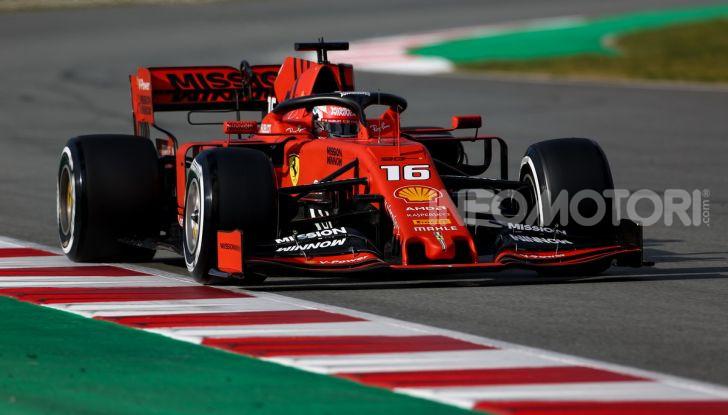 Formula 1 2019 Test Barcellona – giorno 2: in testa il ferrarista Leclerc - Foto 2 di 132
