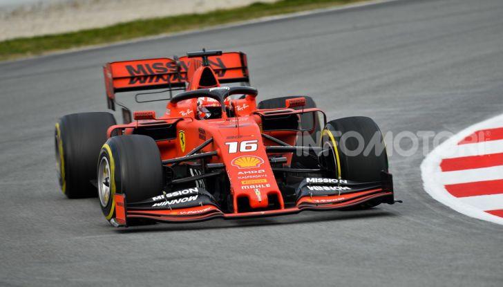 Formula 1 2019 Test Barcellona – giorno 2: in testa il ferrarista Leclerc - Foto 61 di 132