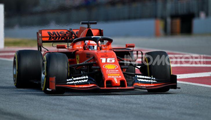Formula 1 2019 Test Barcellona – giorno 2: in testa il ferrarista Leclerc - Foto 69 di 132