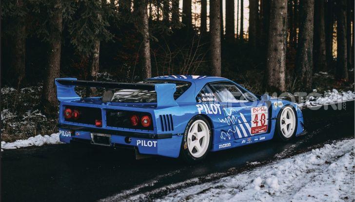 Ferrari F40 LM: icona delle 24 Ore di Le Mans all'asta - Foto 3 di 46