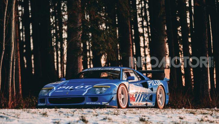 Ferrari F40 LM: icona delle 24 Ore di Le Mans all'asta - Foto 34 di 46
