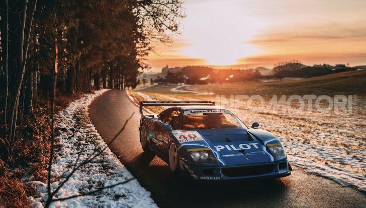 Ferrari F40 LM: icona delle 24 Ore di Le Mans all'asta - Foto 35 di 46