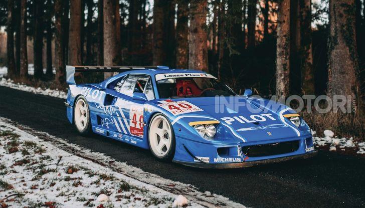 Ferrari F40 LM: icona delle 24 Ore di Le Mans all'asta - Foto 2 di 46