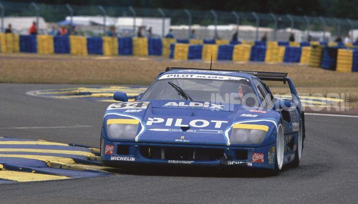 Ferrari F40 LM: icona delle 24 Ore di Le Mans all'asta - Foto 36 di 46