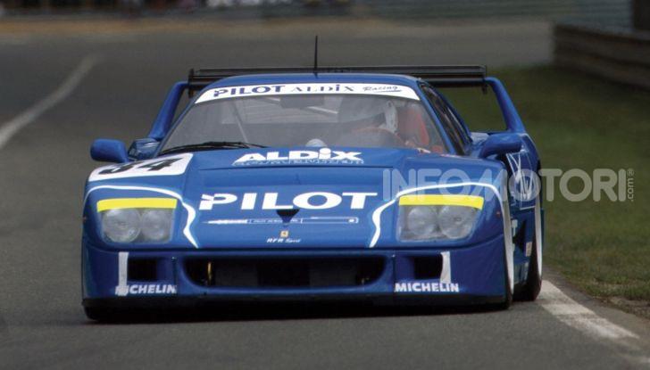 Ferrari F40 LM: icona delle 24 Ore di Le Mans all'asta - Foto 38 di 46