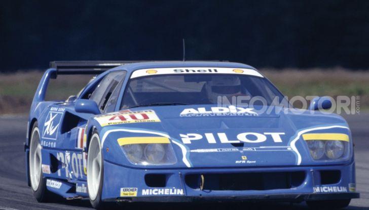 Ferrari F40 LM: icona delle 24 Ore di Le Mans all'asta - Foto 39 di 46