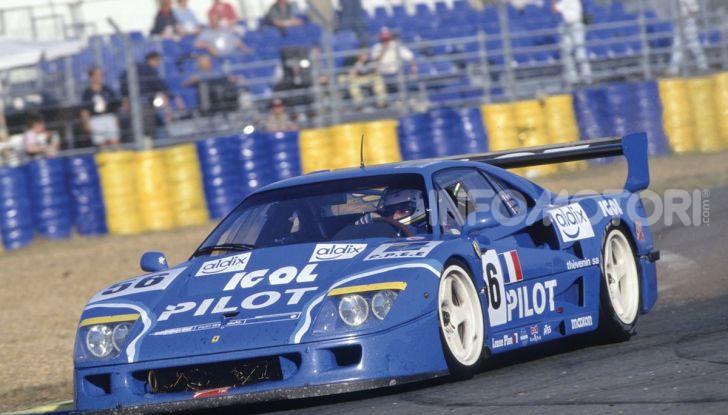 Ferrari F40 LM: icona delle 24 Ore di Le Mans all'asta - Foto 40 di 46