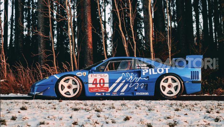 Ferrari F40 LM: icona delle 24 Ore di Le Mans all'asta - Foto 6 di 46