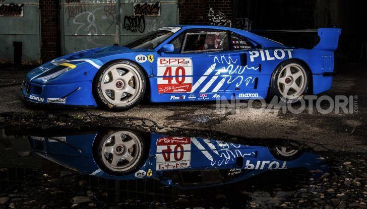 Ferrari F40 LM: icona delle 24 Ore di Le Mans all'asta - Foto 41 di 46