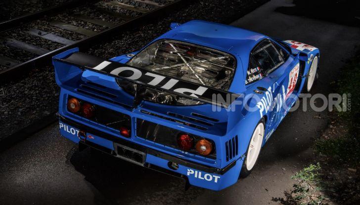Ferrari F40 LM: icona delle 24 Ore di Le Mans all'asta - Foto 42 di 46