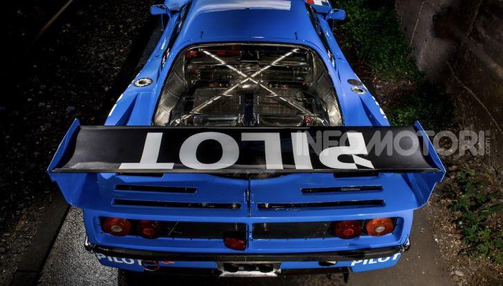Ferrari F40 LM: icona delle 24 Ore di Le Mans all'asta - Foto 43 di 46