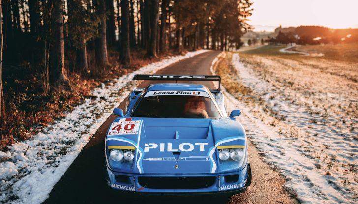 Ferrari F40 LM: icona delle 24 Ore di Le Mans all'asta - Foto 9 di 46