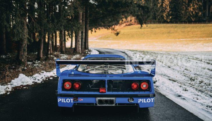 Ferrari F40 LM: icona delle 24 Ore di Le Mans all'asta - Foto 10 di 46