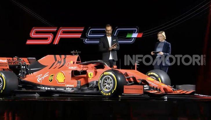 F1 2019: presentata la nuova Ferrari SF90 - Foto 1 di 12