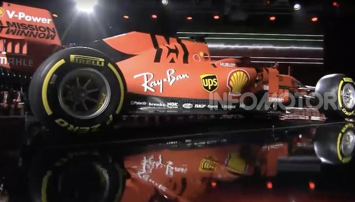 F1 2019: presentata la nuova Ferrari SF90 - Foto 10 di 12