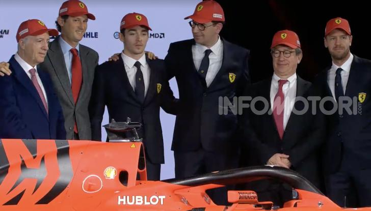 F1 2019: presentata la nuova Ferrari SF90 - Foto 12 di 12