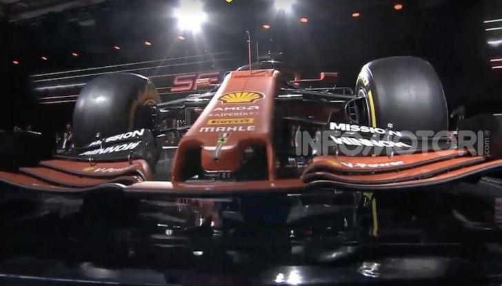 F1 2019: presentata la nuova Ferrari SF90 - Foto 2 di 12