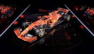 F1 2019: presentata la nuova Ferrari SF90